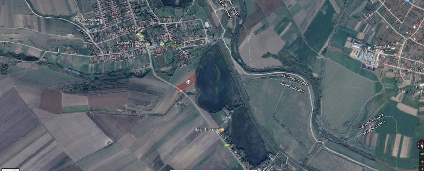 localizare teren rotbav